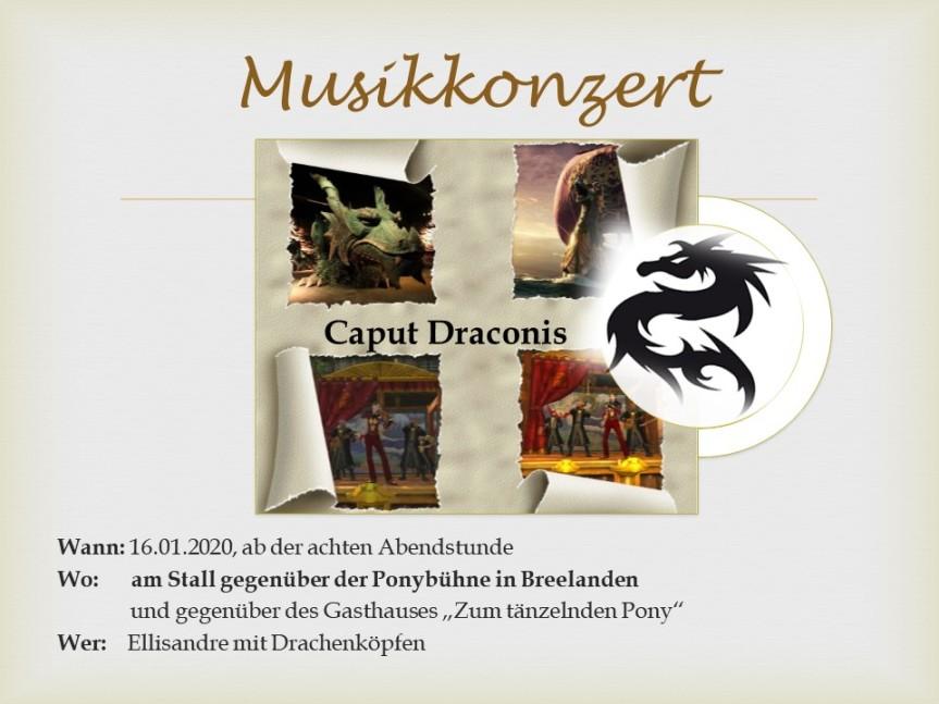 """Sonderveröffentlichung – Konzert der """"Drachenköpfe"""""""