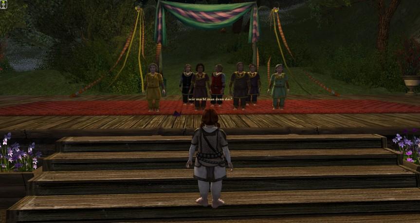 Konzert der Harfenschlags auf der Methelbühne am zweiten Tag desSolmath