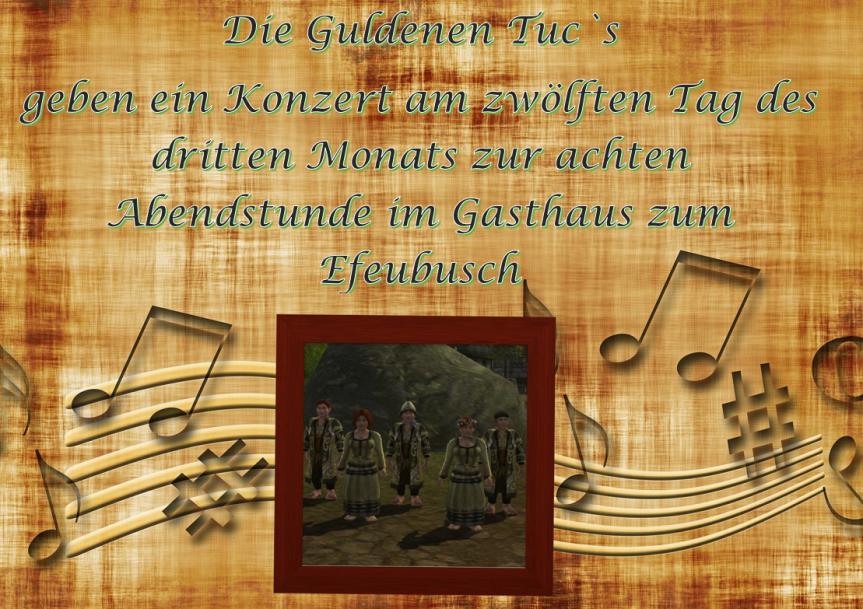 Ankündigung: Konzert am 12.03. im Stammtisch zumEfeubusch