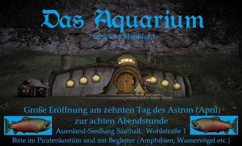 """Sonderveröffentlichung: Eröffnung von """"DasAquarium"""""""
