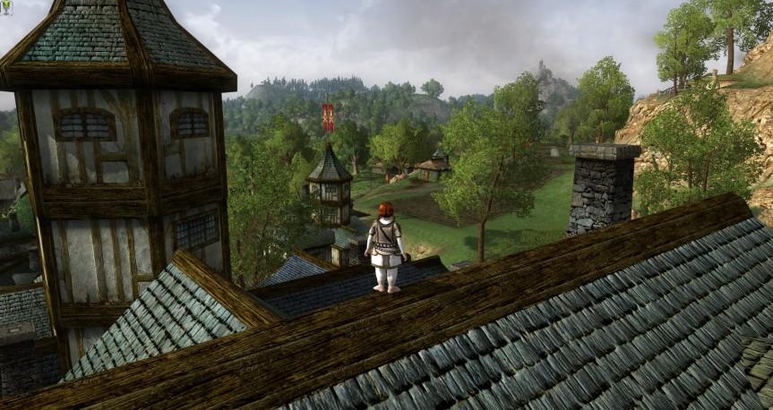 Dachwanderung zu Bree – Teil1
