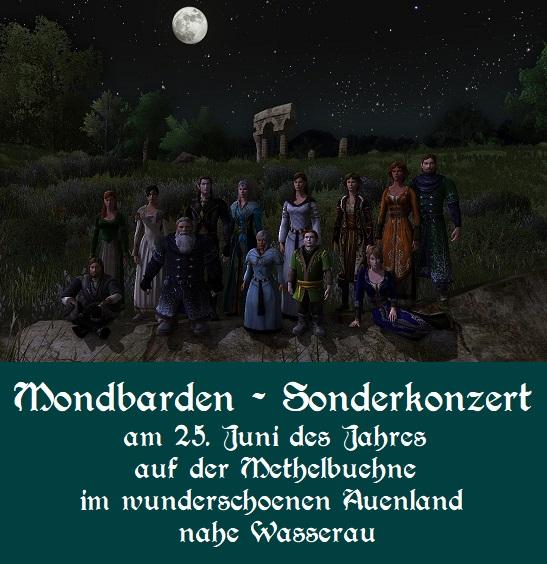 Konzert der Mondbarden auf der Methelbühne am25.06.2020