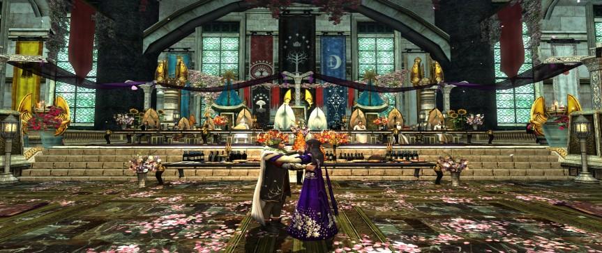 Aubi gratuliert: Königspaar Elessar (Aragorn II.) und Arwen Undómiel feierlich in Minas Tirithvermählt!