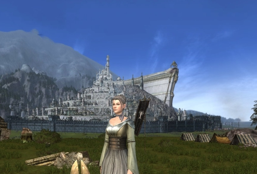 Wichtige Gebäude Mittelerdes (18): Einführung in Minas Tirith mit einigen geschichtlichenBetrachtungen