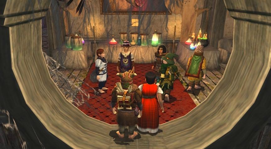 Verbund besuchte erneut die ›Gruselhöhle‹ auf demHerbstfest!