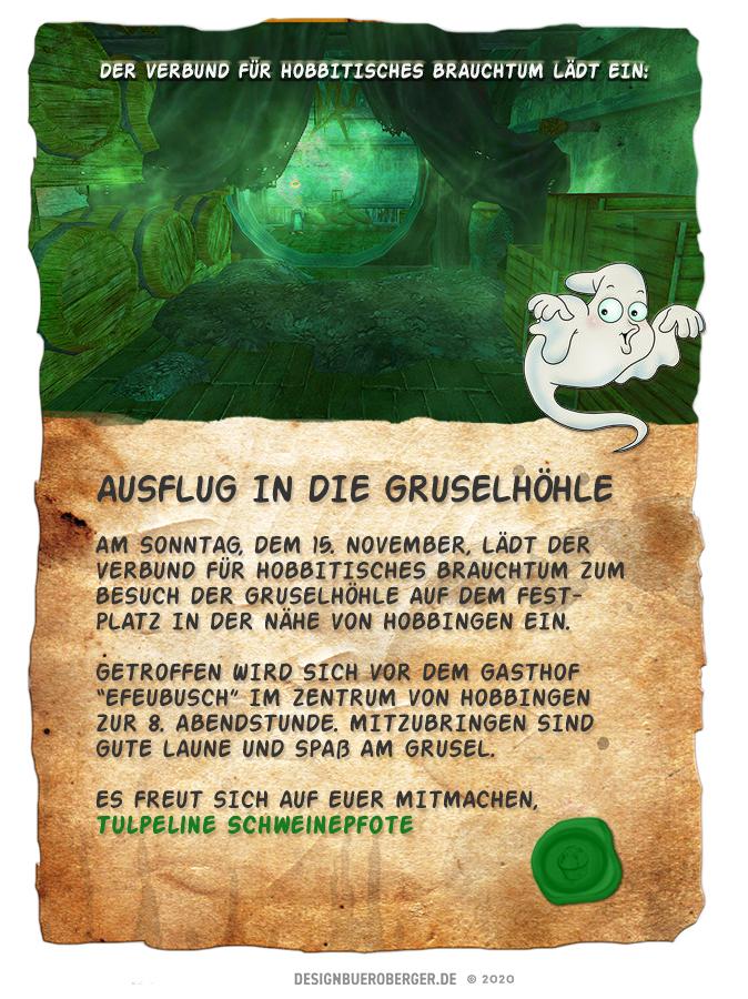 """Der Verbund für Hobbitisches Brauchtum lädt zu einem """"gruseligen"""" Spaziergangein"""